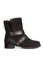 Lined boots - Black - Ladies | H&M GB 1
