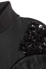 Top con paillettes e frange - Nero - DONNA | H&M IT 3