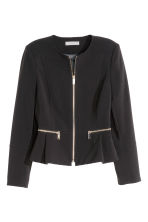 Short jacket - Black - Ladies | H&M CN 2