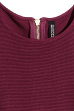 Crop top - Burgundy - Ladies | H&M CN 3