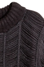 Fringed jumper - Black - Ladies | H&M GB 3