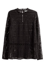 Lace blouse - Black - Ladies | H&M CN 2