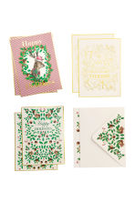 6-pack Christmas cards - Multicoloured - Ladies | H&M CN 1