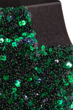 Sequined skirt - Green - Ladies | H&M GB 3