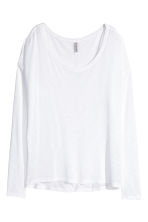 Tricot top - Wit - DAMES | H&M NL 4
