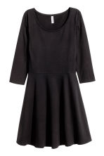 Jersey dress - Black - Ladies | H&M GB 5