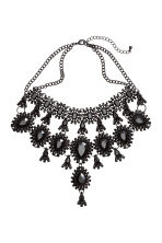 Metal necklace - Black - Ladies | H&M CN 1