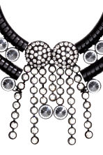 Short necklace - Black - Ladies | H&M CN 2