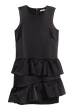 Abito con volant - Nero - DONNA | H&M IT 2