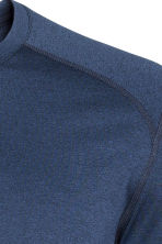 Sports top - Dark blue marl - Men | H&M 5