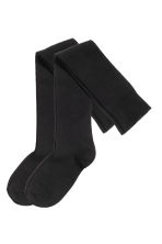 2-pack over-the-knee socks - Black - Ladies | H&M 3