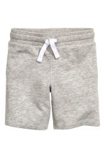 Short en molleton - Gris chiné - ENFANT | H&M FR 2