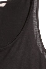 H&M+ Jersey vest top  - Black - Ladies | H&M CN 3