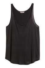 H&M+ Jersey vest top  - Black - Ladies | H&M CN 2