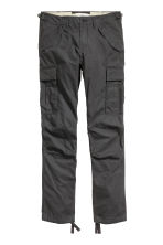 Cargo trousers - Anthracite grey - Men | H&M CN 2