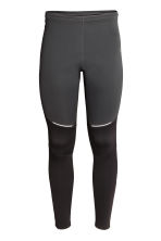 Winter running tights - Black - Men | H&M 3