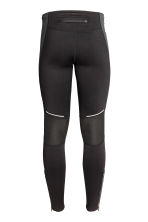 Winter running tights - Black - Men | H&M 4