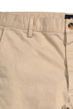 Chinos Slim fit - Light beige - Men | H&M CN 3
