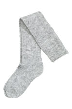 Overknee socks - Light grey marl - Ladies | H&M CN 2