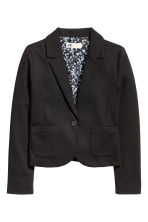Jersey jacket - Black - Kids | H&M CN 2