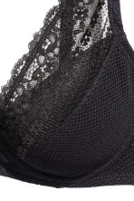 Lace push-up bra - Black - Ladies | H&M 5