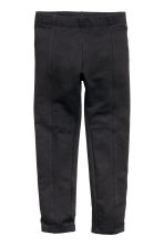 Leggings in sturdy jersey - Black -  | H&M GB 2