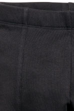 Leggings in sturdy jersey - Black -  | H&M GB 3