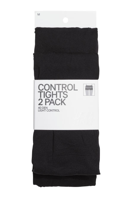 Collants Control top, pack-2