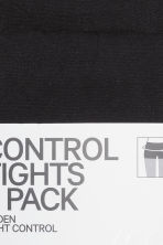 2-pack Control top tights - Black - Ladies | H&M 3
