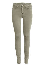 Shaping Skinny Regular Jeans - Khaki green - Ladies | H&M CN 2