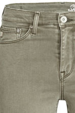 Shaping Skinny Regular Jeans - Khaki green - Ladies | H&M CN 5