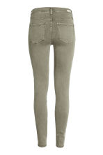 Shaping Skinny Regular Jeans - Khaki green - Ladies | H&M CN 3