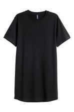 Long T-shirt - Black - Men | H&M 4