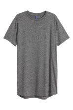 Long T-shirt - Dark grey marl - Men | H&M 2