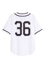 Baseball shirt - White - Men | H&M GB 3