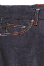 Slim Low Jeans - Ciemnoniebieski denim/Raw - ON | H&M PL 4
