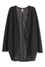 Lace cardigan - Black - Ladies | H&M 5