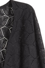 Lace cardigan - Black - Ladies | H&M 3