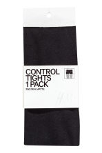 200 denier Control top tights - Black - Ladies | H&M CN 2