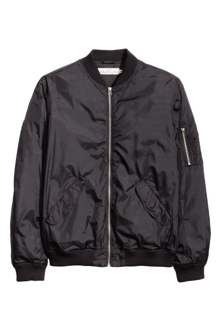 Bomber in nylon