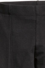 Sturdy jersey leggings - Black -  | H&M CN 4