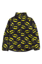 Fleece jacket - Black/Batman - Kids | H&M CN 2