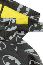 Softshell jacket - Black/Batman - Kids | H&M CN 3