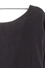 Wide blouse - Black - Ladies | H&M CN 4