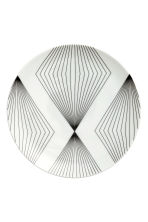Assiette à motif - Blanc - Home All | H&M FR 2