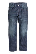 Relaxed Generous Size Jeans - Dark denim blue - Kids | H&M CN 1