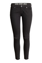 Super Skinny Low Ankle Jeans - 黑色 - Ladies | H&M CN 2