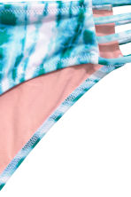 Bikini brief bottoms - Turquoise/Patterned - Ladies | H&M IE 3