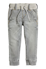 Denim joggers - Grey - Kids | H&M CN 3
