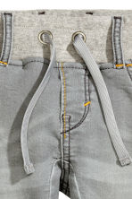 Denim joggers - Grey - Kids | H&M CN 5